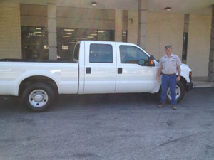Nick Simoneaux with Ford F150